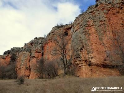 Hoces y cañones del Río Gallo - Paredones río Piedra;sendero del oso